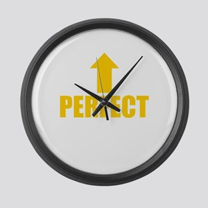 I'm Perfect Large Wall Clock