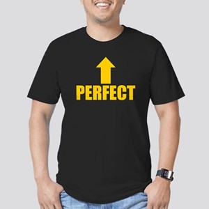 I'm Perfect Men's Fitted T-Shirt (dark)