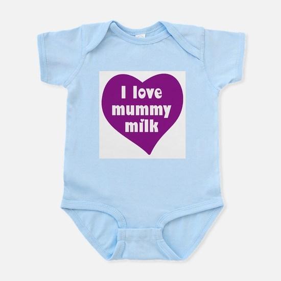 I love mummy milk Infant Creeper