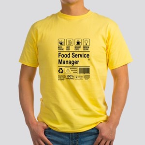 Food Service Manager T-Shirt