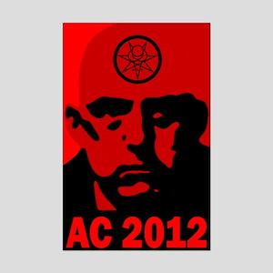 Aleister Crowley 2012 Mini Poster Print