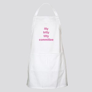 itty bitty titty committee BBQ Apron