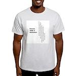Periodic Table of Manhattan Light T-Shirt
