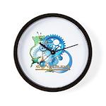 Earth Time Wall Clock