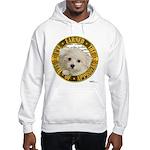 Maltese Puppy Hooded Sweatshirt