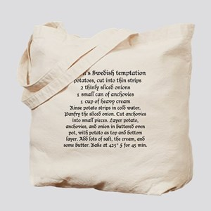 Jansson's temptation and gravlax on Tote Bag