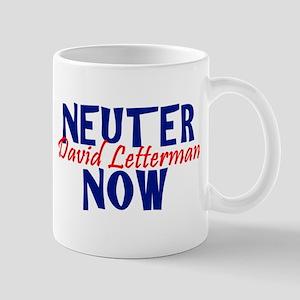 Neuter David Letterman Now Mug