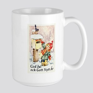 Christmas Mail Large Mug