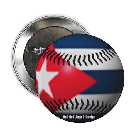 """Cuban Baseball 2.25"""" Button (10 pack)"""