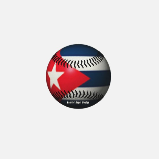 Cuban Baseball Mini Button