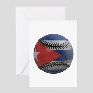 Cuban Baseball Greeting Card
