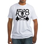 Dead Man's Hand Poker Fitted T-Shirt