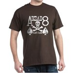 Dead Man's Hand Poker Dark T-Shirt