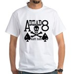 Dead Man's Hand Poker White T-Shirt