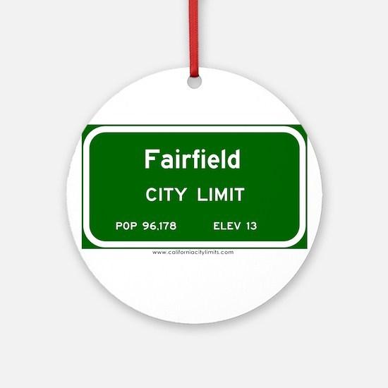 Fairfield Ornament (Round)