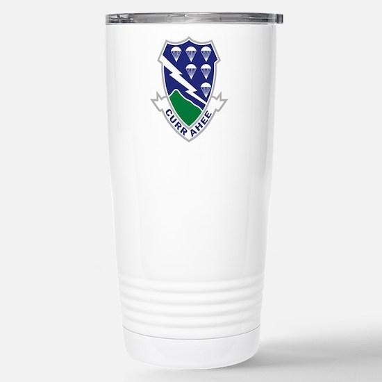 506th Infantry Regiment Stainless Steel Travel Mug