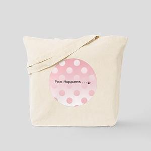 Poo Happens Diaper Bag/Tote Bag