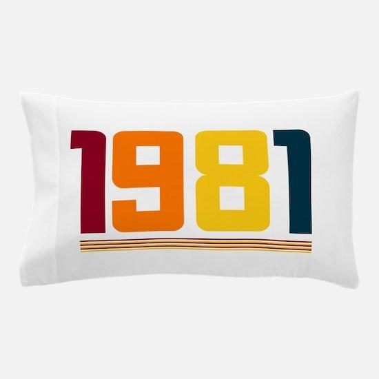 1981 Pillow Case