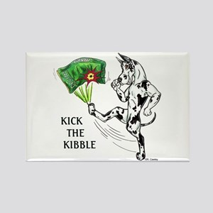 KickTheKibble Rectangle Magnet