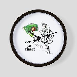 KickTheKibble Wall Clock
