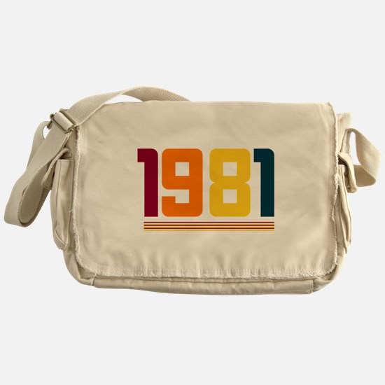 1981 Messenger Bag