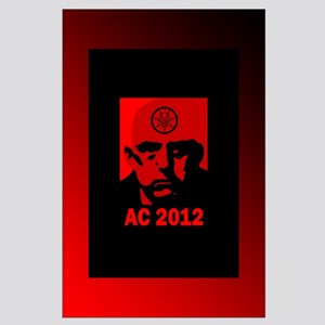 Aleister Crowley 2012 Large Poster