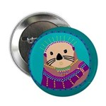 """Otter 2.25"""" Button (10 pack)"""