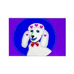 Dog Rectangle Magnet (100 pack)