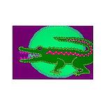Alligator Rectangle Magnet (10 pack)