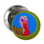 """Turkey 2.25"""" Button (10 pack)"""