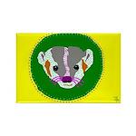 Badger Rectangle Magnet