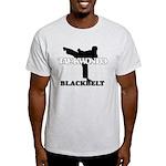 TaeKwonDo Black Belt Light T-Shirt