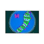 Caterpillar Rectangle Magnet (10 pack)