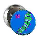 """Caterpillar 2.25"""" Button"""