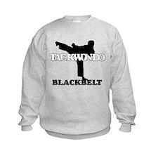 TaeKwonDo Black Belt Kids Sweatshirt