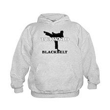 TaeKwonDo Black Belt Kids Hoodie