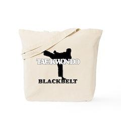 TaeKwonDo Black Belt Tote Bag