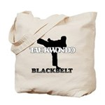 TaeKwonDo Black Belt Tote Bag