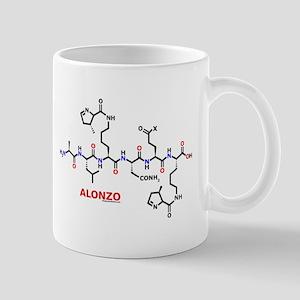 Alonzo name molecule Mug