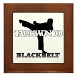 TaeKwonDo Black Belt Framed Tile