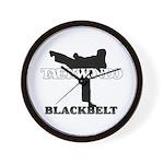 TaeKwonDo Black Belt Wall Clock