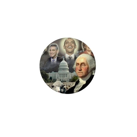 George Washington - Obama She Mini Button (100 pac