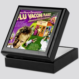 Flu Vaccine Playset Keepsake Box