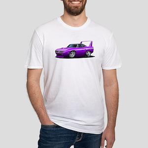 Superbird Purple Car Fitted T-Shirt