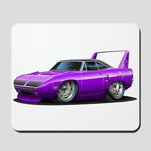 Superbird Purple Car Mousepad