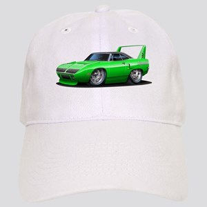 Superbird Green Car Cap