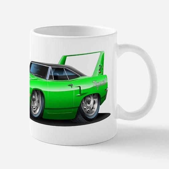 Superbird Green Car Mug