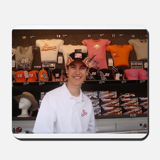 Joey Logano Mousepad