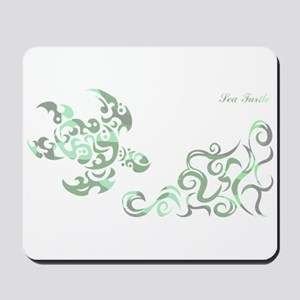 SEA TURTLE-WIDE(Camouflage) Mousepad