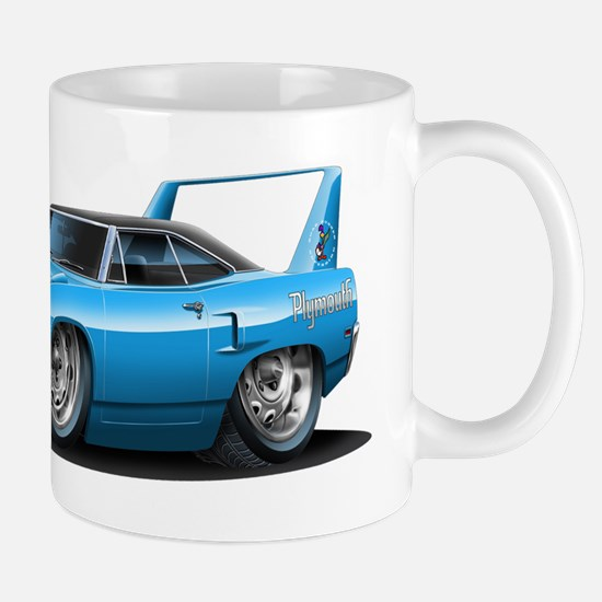 Superbird Blue Car Mug